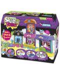 Игрален комплект Skeletown - Град, с 5 фигурки-скелети - 1t
