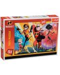 Пъзел Trefl от 100 части - Супергеройско семейство, Incredibles 2 - 2t