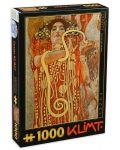 Пъзел D-Toys от 1000 части - Лекарство, Густав Климт - 1t