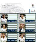 Ученически етикети Ars Una Real Madrid - 18 броя - 1t
