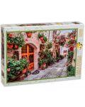 Пъзел Gold Puzzle от 1000 части - Улица в Италия - 2t