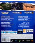 Uncharted: The Nathan Drake Collection - Пакет от 3 игри (PS4) - 4t