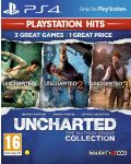 Uncharted: The Nathan Drake Collection - Пакет от 3 игри (PS4) - 1t