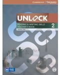 Unlock Level 2 Reading and Writing Skills Teacher's Book with DVD - 1t