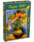 Пъзел Gold Puzzle от 1000 части - Ведрица в медена ваза - 2t