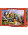Пъзел Castorland от 500 части - Уилтшърските градини, Карл Валенте - 2t