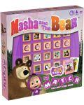 Игра с карти и кубчета Top Trumps Match - Маша и Мечокът - 2t
