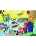 Пъзел New York Puzzle от 60 части - Животните от гората - 1t
