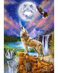 Пъзел Castorland от 1500 части - Нощта на вълка, Марчело Корти - 2t