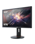 """Геймърски монитор Acer - XF240QP, 23.6"""", FHD, 144Hz, FreeSync, 1ms, черен - 3t"""