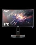"""Геймърски монитор Acer - XF240QP, 23.6"""", FHD, 144Hz, FreeSync, 1ms, черен - 2t"""