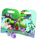 Активна игра със стикери Revontuli Toys Oy - Моето малко пони, Партито на Пинки Пай - 2t
