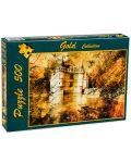Пъзел Gold Puzzle от 500 части - Замъкът на Азай - 2t