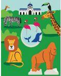 Мини пъзел New York Puzzle от 100 части - Зоологическа градина - 1t