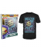 Тениска Funko Pop! All Hail Skeletor, черна - 2t