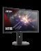 """Геймърски монитор Acer - XF240QP, 23.6"""", FHD, 144Hz, FreeSync, 1ms, черен - 4t"""