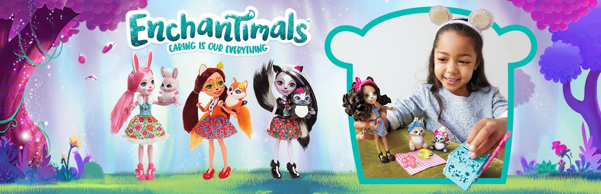 Кукла с животинче Enchantimals