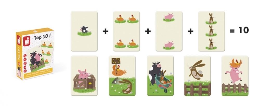 Детска стратегическа игра Janod - Топ 10