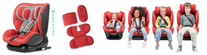 Столче за кола KinderKraft My Way за деца от 0 до 36 kg