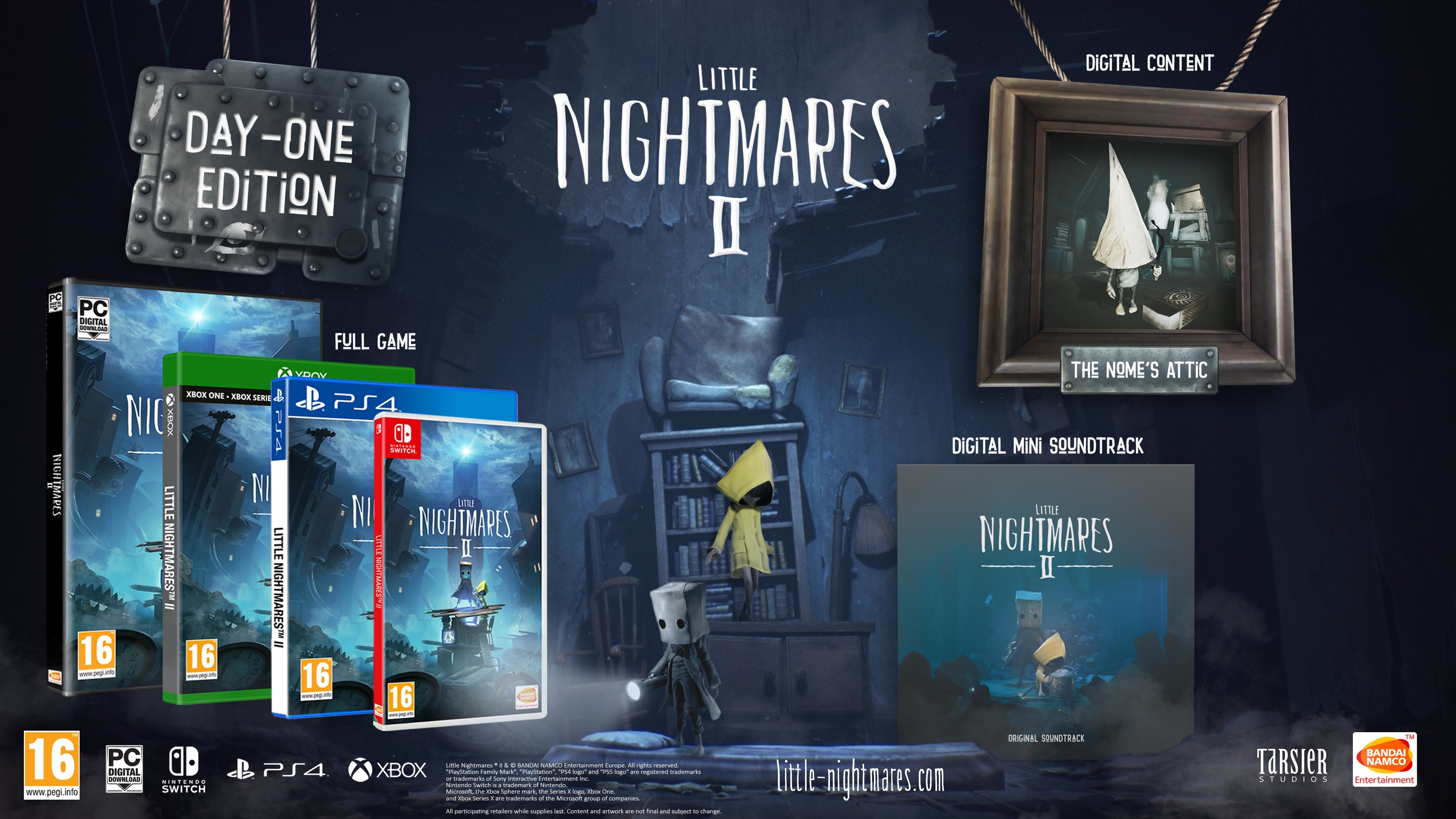 Little Nightmares 2 Day One Edition (Nintendo Switch)