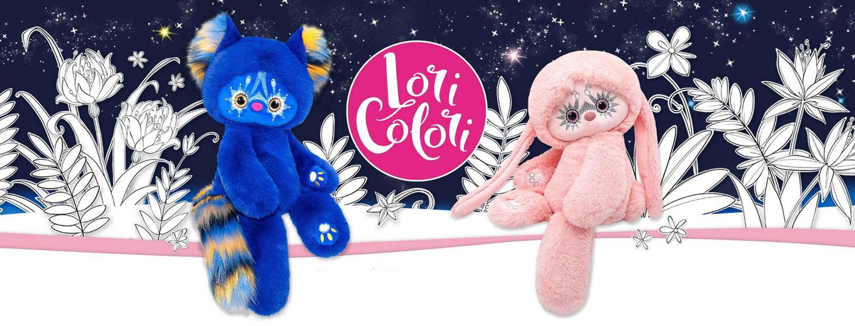 Плюшени играчки животинчета Лори Колори
