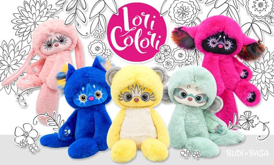 Плюшени играчки Budi Basa Lori Colori