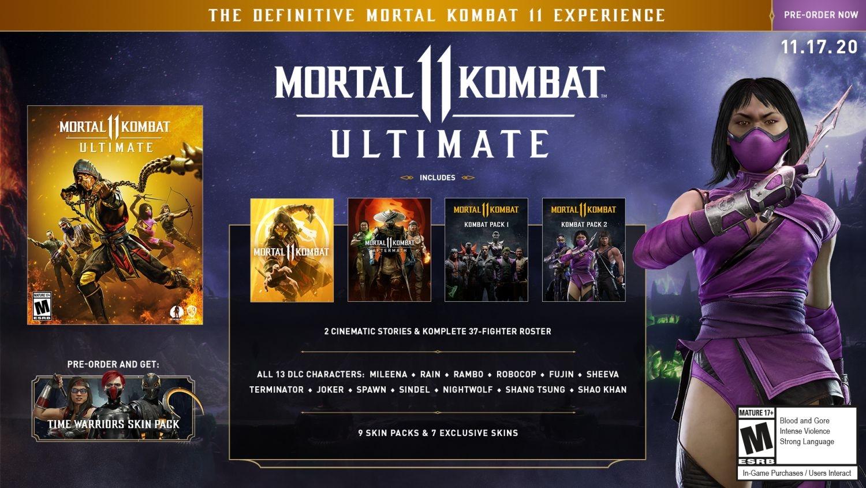 MORTAL KOMBAT 11 ULTIMATE LIMITED EDITION (Nintendo Switch)