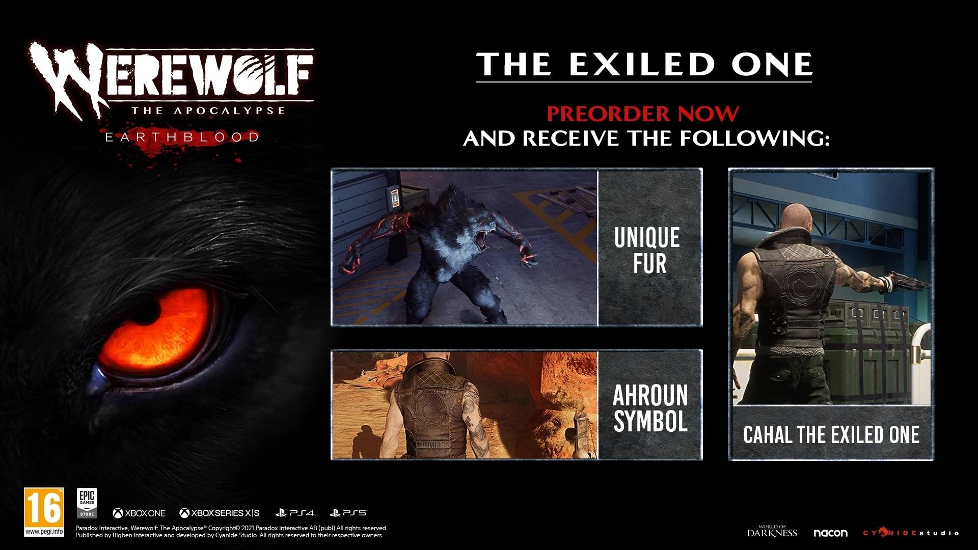 Werewolf: The Apocalypse Earthblood (PC)