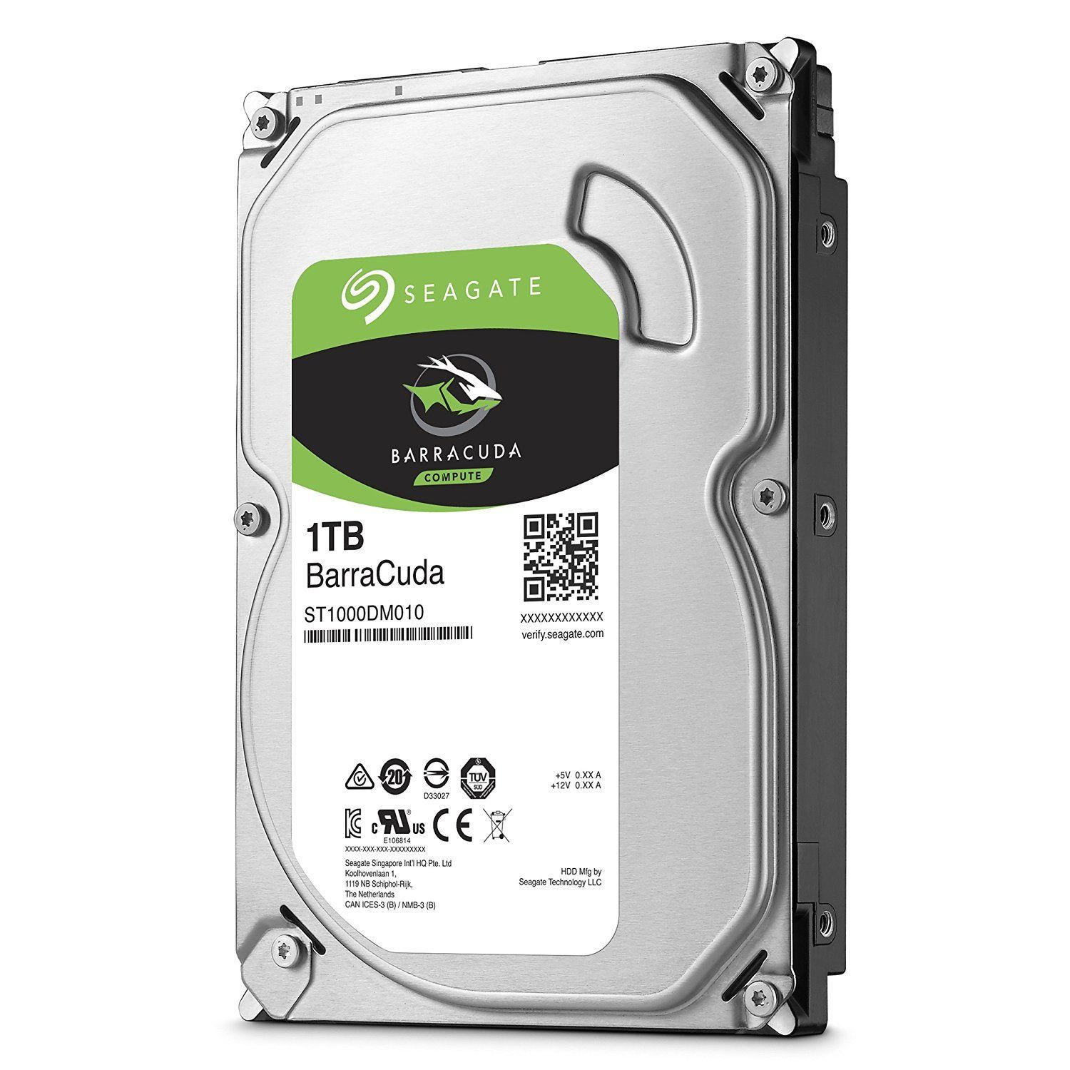 Хард диск Seagate Barracuda 1TB 64MB 7200rpm SATA 3