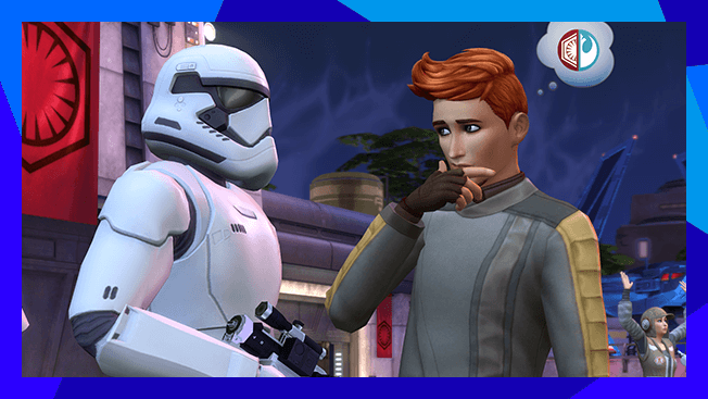 The Sims 4 + Star Wars - Journey to Batuu Expansion Pack Bundle (PC)