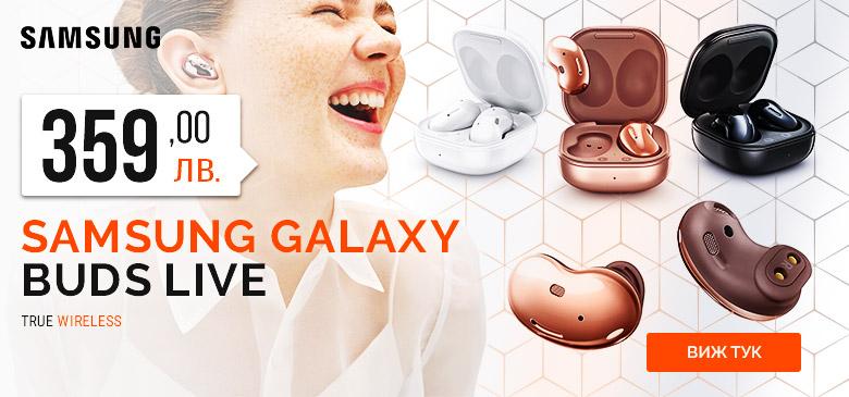 Слушалки Samsung Galaxy Buds Live!
