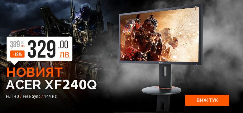 Новият Acer XF240Q с -18%