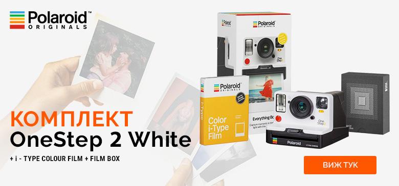 Комплект OneStep 2 White + i-Type colour film + Film box