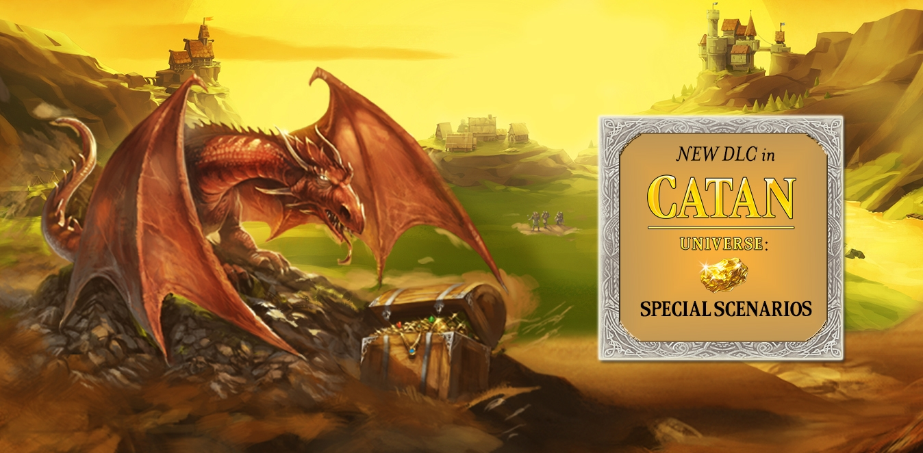 CATAN Съкровища, Дракони & Откриватели
