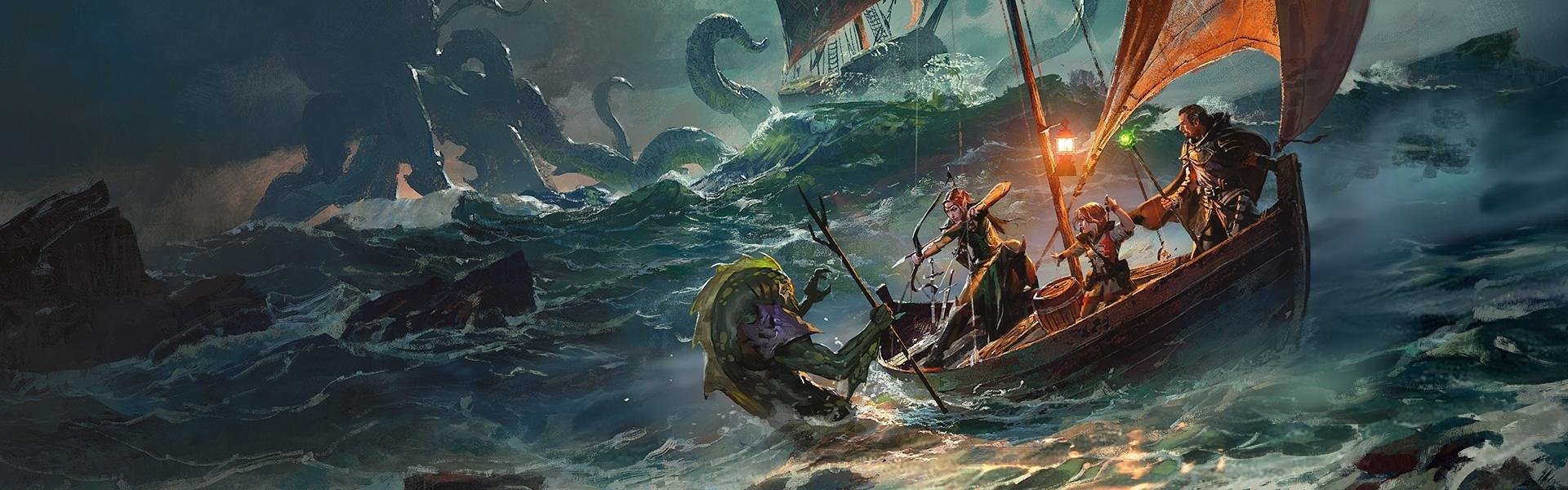 Dungeons & Dragons - Adventure Ghosts of Saltmarsh