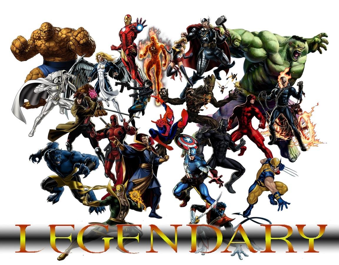 Legendary - A Marvel Deck Building Game