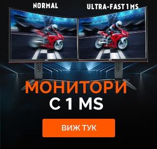 Монитори с 1 ms