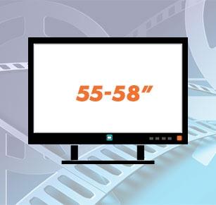 Телевизори 55 - 58